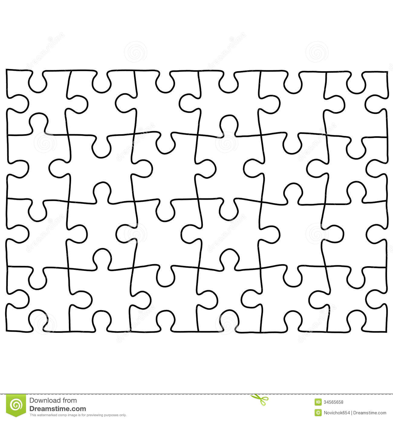Free Puzzle Template, Download Free Clip Art, Free Clip Art On - 2 Piece Puzzle Printable