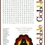 Free Thanksgiving Puzzles ~ Word Search And Maze Printable | Crafty   Thanksgiving Crossword Puzzles Printable Free