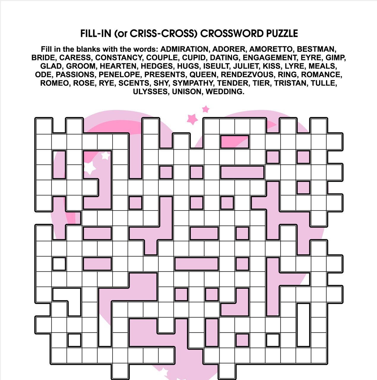 Fun Activities For Kids - Printable Crossword Puzzles In Afrikaans