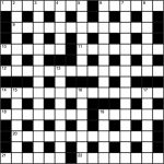 Genius Crossword No 143 | Crosswords | The Guardian   Guardian Printable Quick Crossword