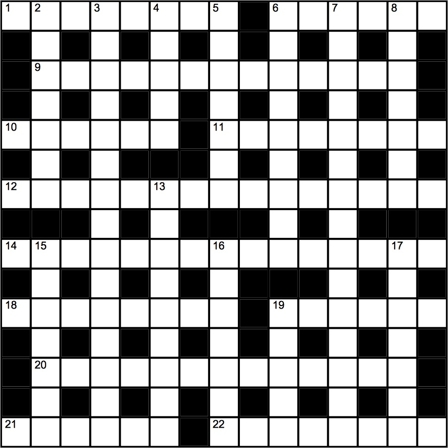 Genius Crossword No 143 | Crosswords | The Guardian - Guardian Printable Quick Crossword