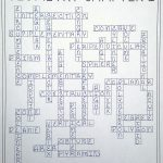 Geometry Chapter 1 Vocabulary Crossword – Tools Of Geometry | Math – Math Vocabulary Crossword Puzzles Printable
