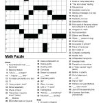 Geometry Puzzles Math – Upskill.club   Printable Crossword Puzzles For Middle School Students