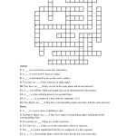Geometry+Terms+Crossword+Puzzle | Paper Crafts | Crossword, Puzzle   Computer Crossword Puzzles Printable