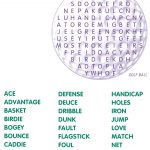 Golf Word Search | Golf Stuff | Word Search Puzzles, Kids Word   Printable Golf Crossword Puzzles