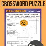 Halloween Crossword Puzzle #3 | Fall Fun | Halloween Crossword   Printable Crossword Puzzles #3