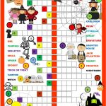 Halloween Crossword Worksheet   Free Esl Printable Worksheets Made   Free Printable Halloween Crossword Puzzles