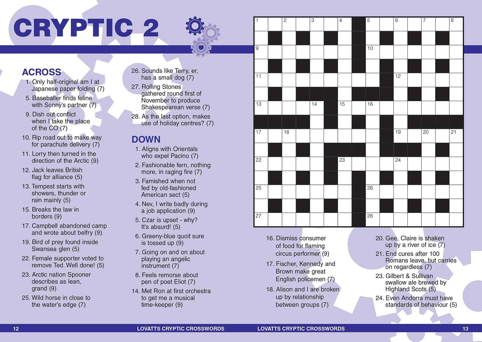 photograph about Cryptic Crosswords Printable titled Printable Cryptic Crossword Puzzles Nz Printable Crossword