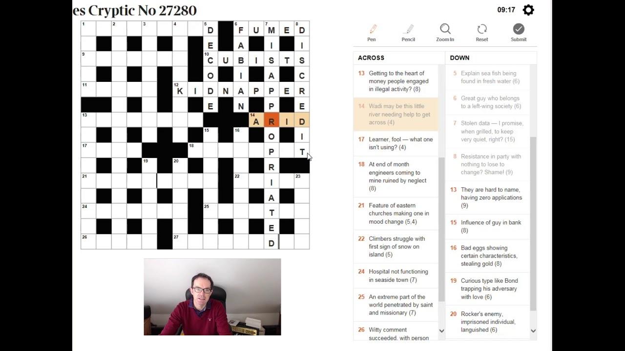 Hard Crossword Clue Guardian - Guardian Printable Quick Crossword