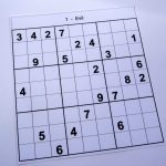Hard Printable Sudoku Puzzles 2 Per Page – Book 1 – Free Sudoku Puzzles   Printable Sudoku Puzzles 1 Per Page