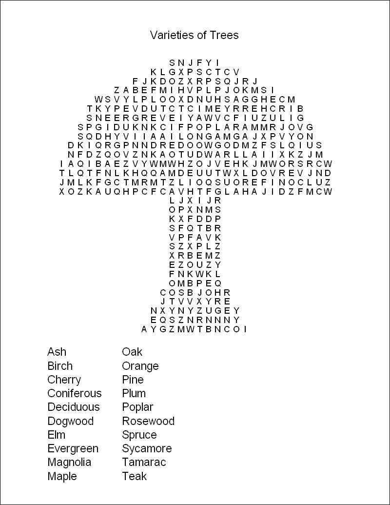 Hard Printable Word Searches For Adults | Free Printable Word Search - Printable Word Puzzles Free