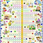 Health :crossword Puzzle Worksheet   Free Esl Printable Worksheets   Printable Health Crossword Puzzles
