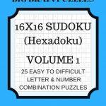 Hexadoku Sudoku 16X16 16X16 Sudoku Sudoku Print Mega | Etsy   Printable Hexadoku Puzzles