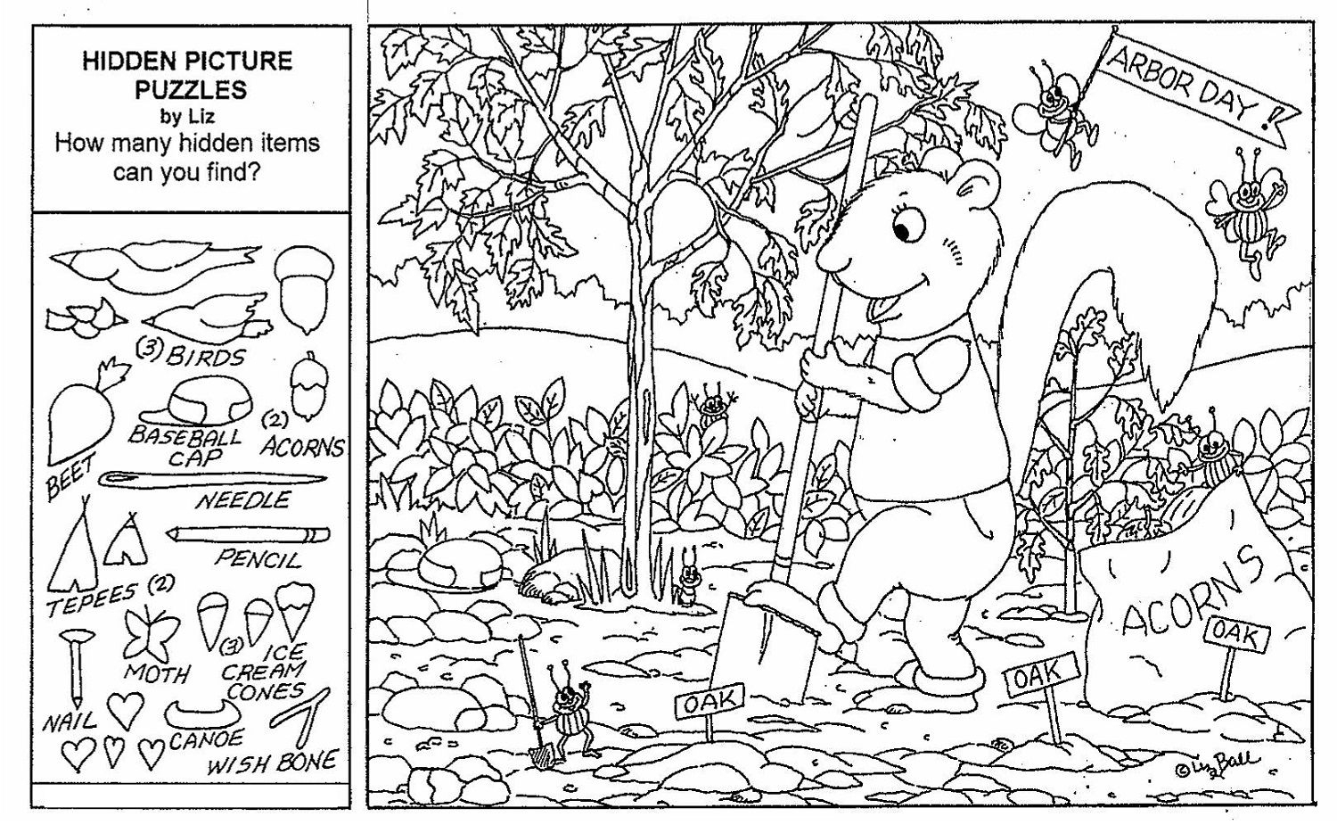 Hidden Objects Worksheets - Briefencounters Worksheet Template - Printable Hidden Puzzles