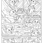 Hidden Picture Worksheet For Middle School | Kiddo Shelter   Printable Hidden Object Puzzles For Adults