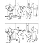 Horse Projects For Kids | Spot The Differences   Stable | Mind's Eye   Printable Horse Puzzle