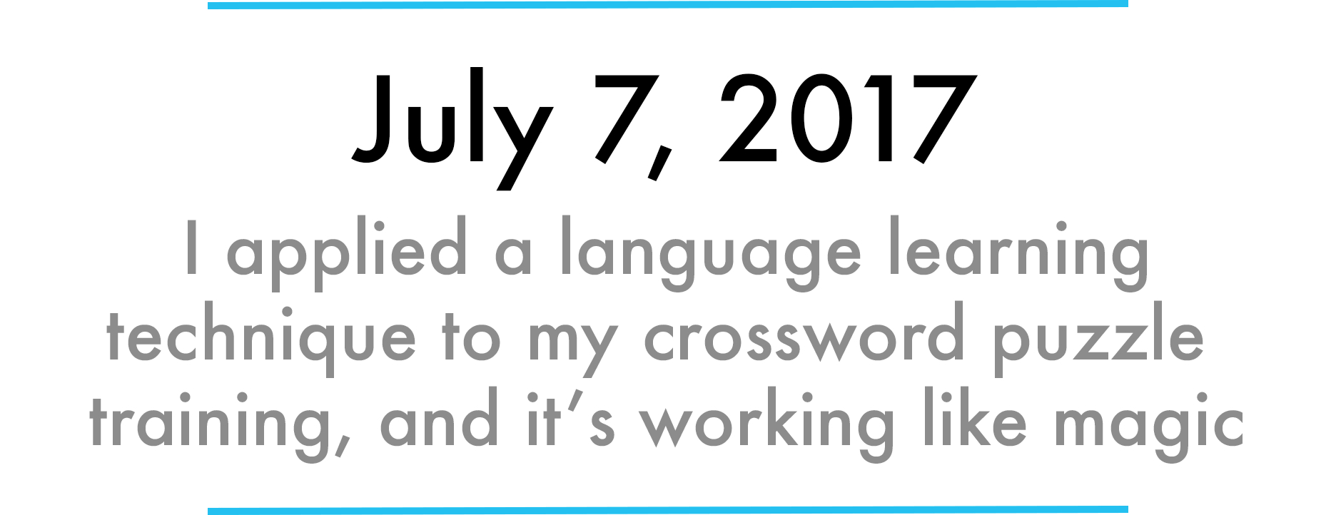 How I Mastered The Saturday Nyt Crossword Puzzle In 31 Days - Printable Crossword Puzzles July 2017