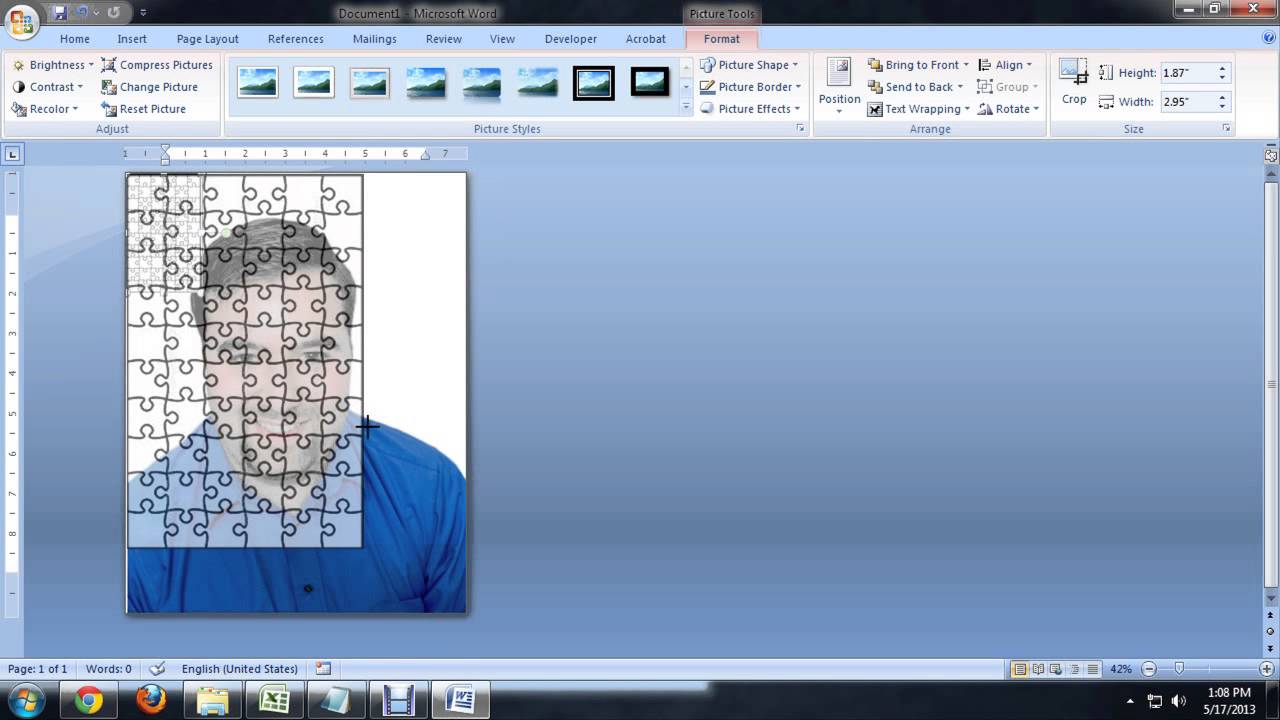 How To Create Jigsaw Puzzles In Microsoft Word, Powerpoint Or - Printable Jigsaw Puzzle Maker Software