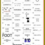 I Made This Printable Word Puzzle To Be Used For The Blue & Gold   Printable Pictogram Puzzles