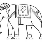 Indian Elephant Coloring Page | Free Printable Coloring Pages   Printable Elephant Puzzle