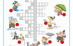Inspiration Worksheets Weather Crossword In Weather Crossword Puzzle – Printable Weather Crossword Puzzle