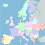 Interactive Map Of Europe, Europe Map With Countries And Seas   Printable Puzzle Map Of Europe