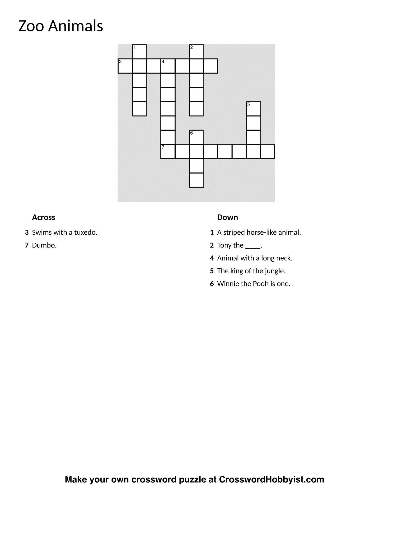Jigsaw Puzzle Maker Free Online Printable | Free Printables - Make Your Own Crossword Puzzle Free Online Printable