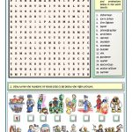 Jobs And Professions Puzzles Worksheet   Free Esl Printable   Worksheet English Puzzle