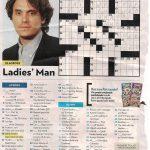 John Mayer   People Magazine Crossword I Love Doin People Magazine   Printable Crossword Puzzles From People Magazine