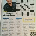Josh Hutcherson Crossword In People July 11Th, 2016 Issue | Cross   Printable People Magazine Crossword Puzzles