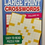 Kappa Large Print Crosswords Puzzles Volume 92 #kappa | Puzzle Books   Large Print Crossword Puzzle Books For Seniors