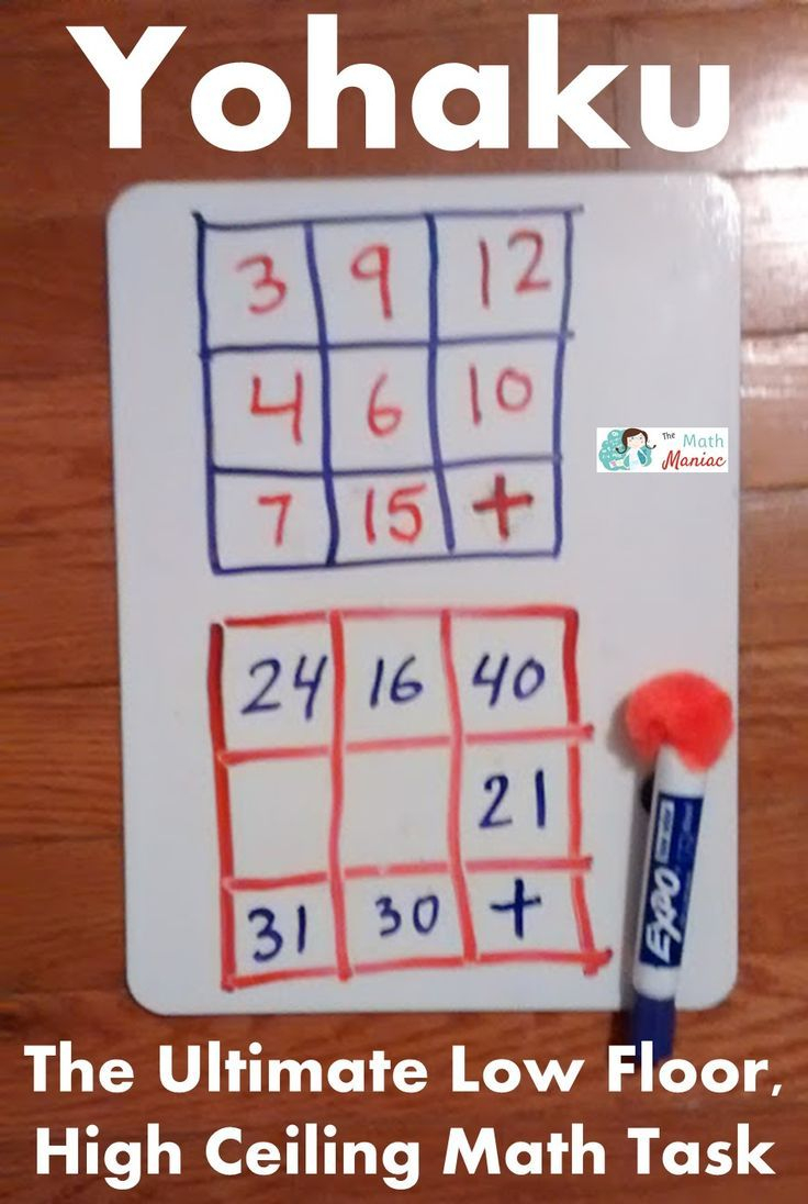 Keep Kids (And Adults!) Of All Ages Engaged In The Math Practice - Printable Yohaku Puzzles
