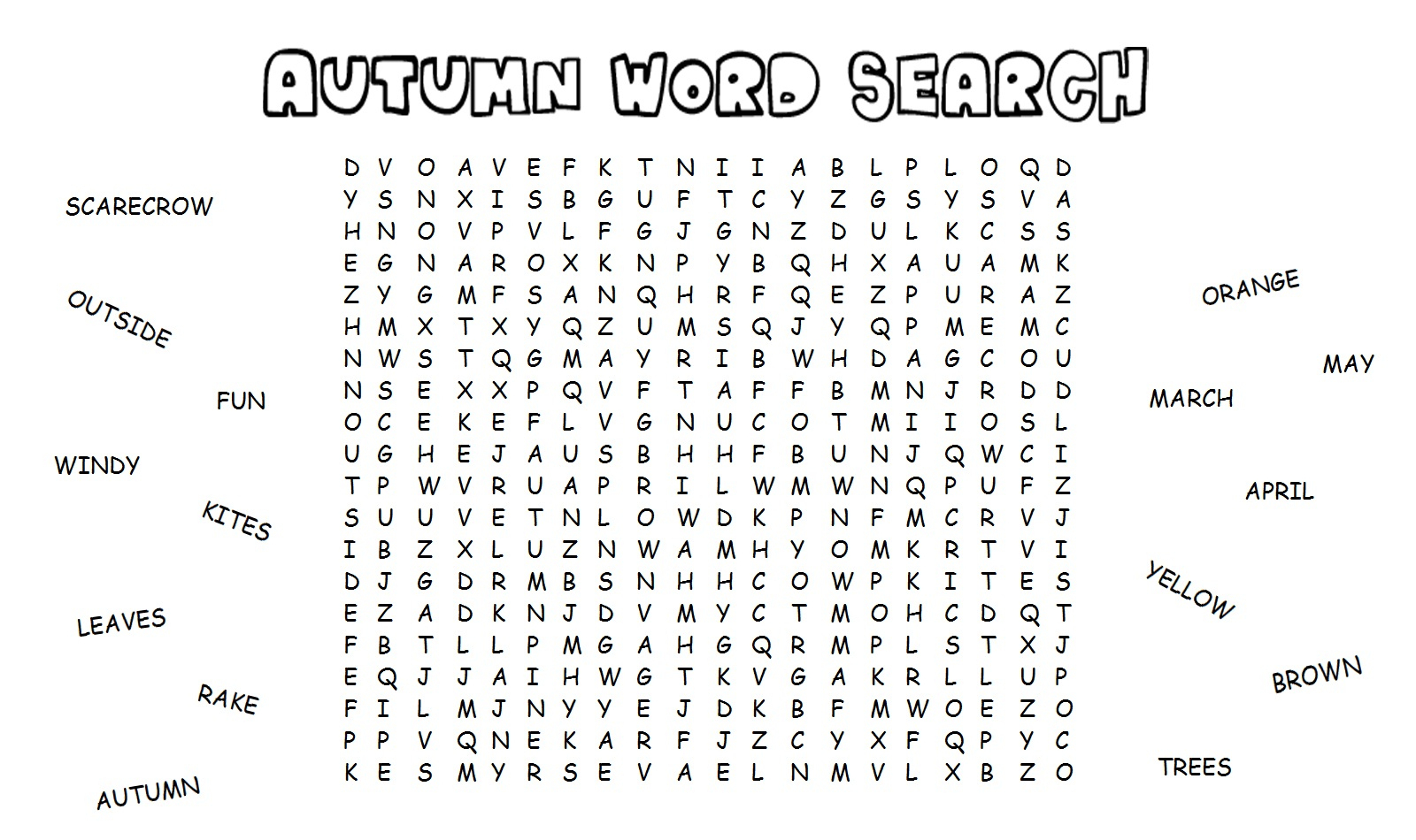 Kid Word Search To Pass The Time | Kiddo Shelter - Printable Puzzles To Pass Time