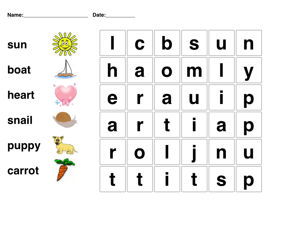 Kids Word Puzzle Games Free Printable | Puzzle | Word Games For Kids - Printable Puzzle Games For Preschoolers