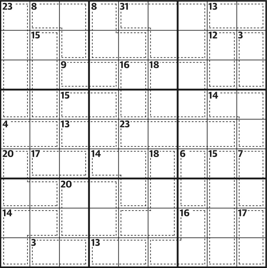 Killer Sudoku 589 | Life And Style | The Guardian - Printable Crossword Guardian