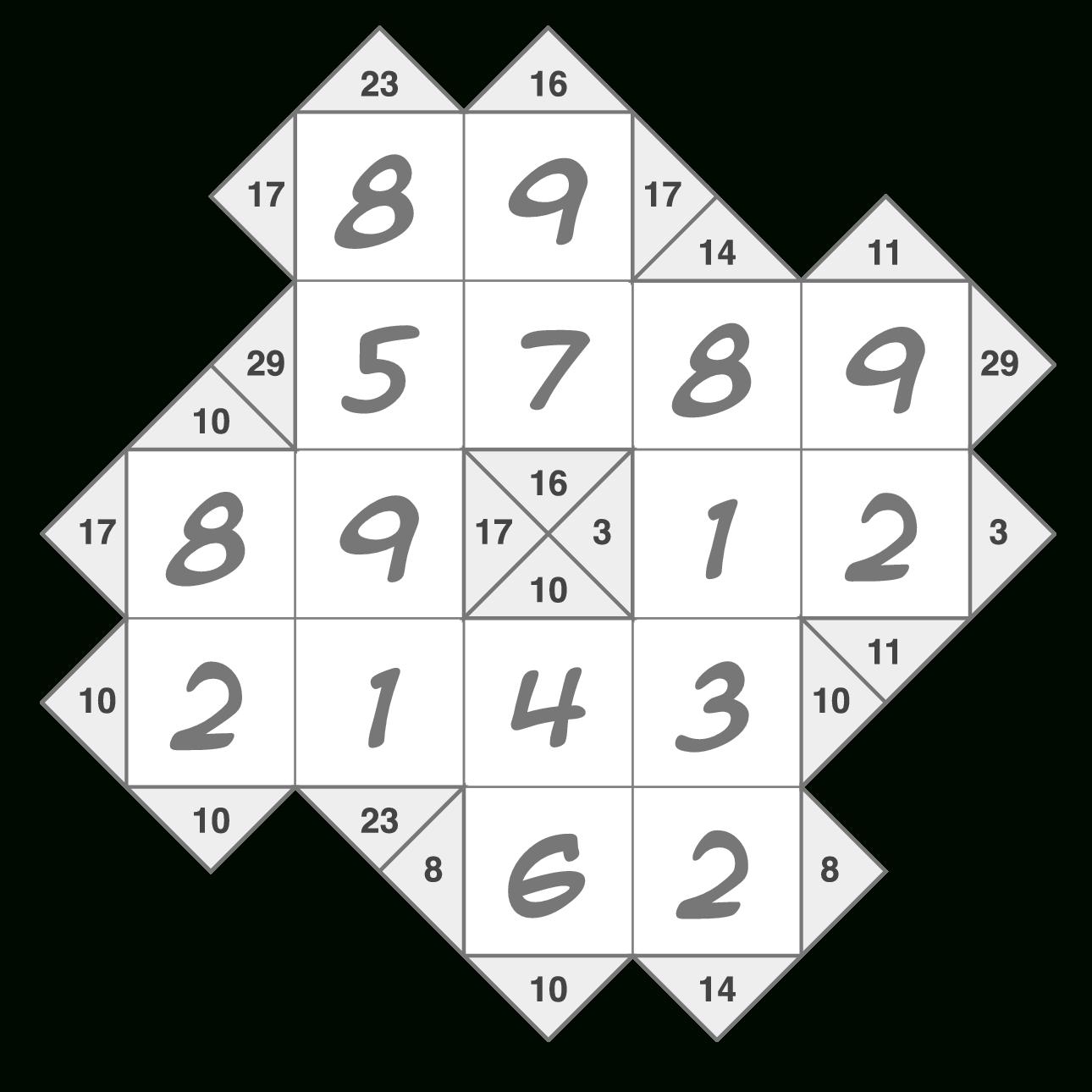 Krypto Kakuro Puzzleskrazydad - Printable Puzzles By Krazydad