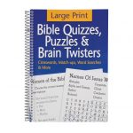 Large Print Bible Puzzle Book   Bible Puzzles   Walter Drake   Puzzle Print Reviews