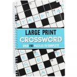 Large Print Crossword | Crossword Books At The Works   Large Print Crossword Puzzle Books