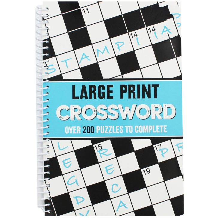 Large Print Crossword Puzzle Books