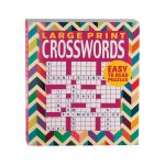 Large Print Crosswords Book   Puzzle Book   Miles Kimball   Large Print Crossword Puzzle Books For Seniors