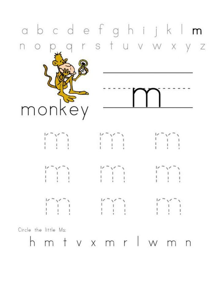 Letter M Puzzle Printable