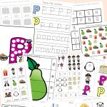 Letter P Worksheets + Printables   Fun With Mama   Letter P Puzzle Printable