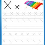 Letter X Is For Xylophone Handwriting Practice Worksheet | Free   X Puzzle Worksheet