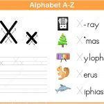 Letter X Tracing Worksheet | Free Printable Puzzle Games   X Puzzle Worksheet