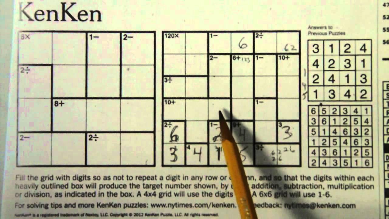 List Of Synonyms And Antonyms Of The Word: Kenken 6X6 - Printable Kenken Puzzles 9X9