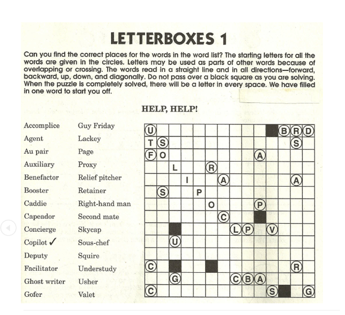 List Of Synonyms And Antonyms Of The Word: Letterbox Puzzles - Printable Tanglewords Puzzles