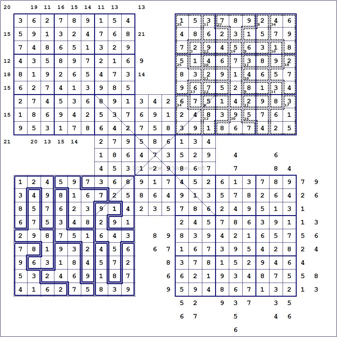 Loco Sudoku - Printable Hitori Puzzles