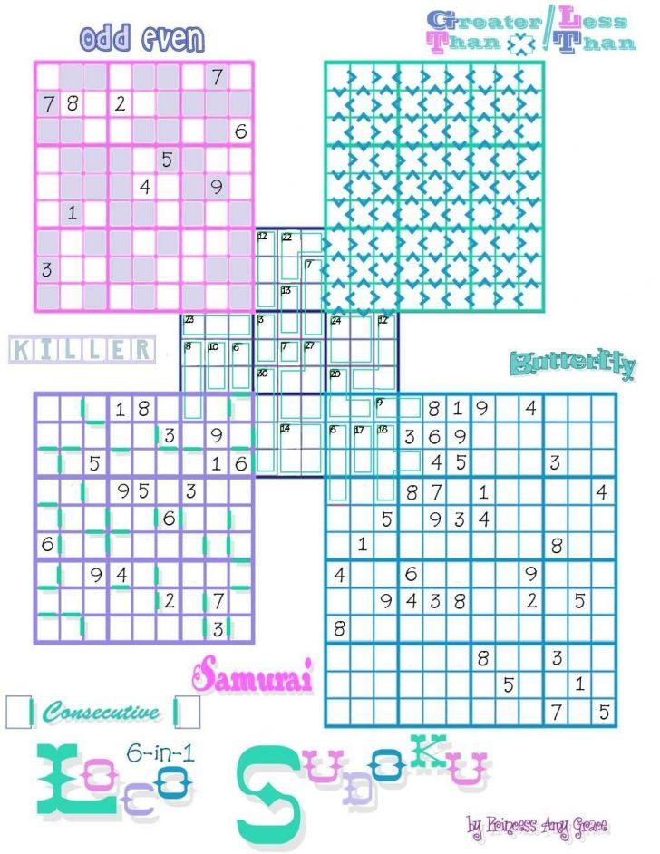 Printable Crossword Sudoku Puzzles