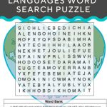 Love In Other Languages | Recently Pinned | Valentines Day Words   Printable Crossword Puzzles In Afrikaans