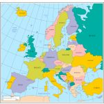 Maps Of Europe Inside Europe Map Puzzle Printable | Printable Maps   Printable Puzzle Map Of Europe